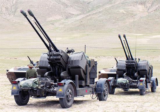 炮�_新型35毫米炮使中国首次具备常规高机动防空