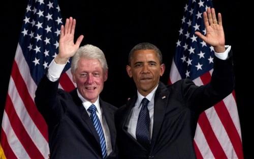 克林顿将在美民主党全国代表大会上力挺奥巴马图片