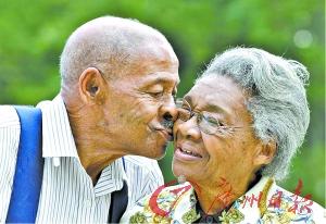 美85岁老人谱写婚姻传奇 19岁结39岁离85岁又复婚图片