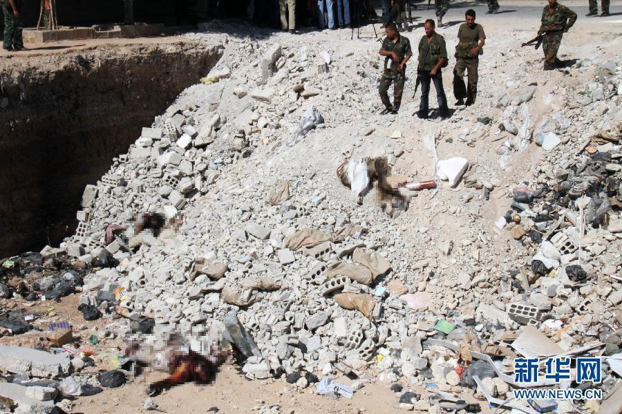叙利亚战争杀人视频_快步图片站