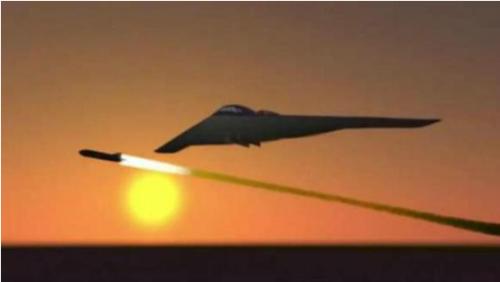 隐身作战飞机发射champ导弹想象图(波音公司图片)