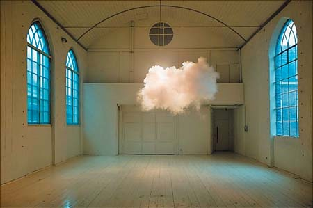 1.室内的云朵
