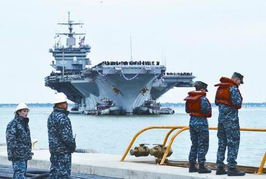 美媒称中国未来或派航母到美专属经济区航行