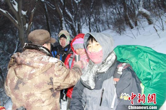 河北又解救3名被困登山爱好者当事人忆雪夜惊魂