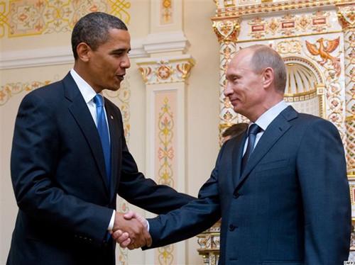 奥巴马接受普京邀请将访俄 承诺改善两国关系图片