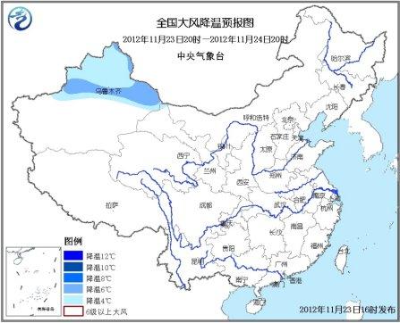 新一轮冷空气影响中国青藏高原东部有中到大雪