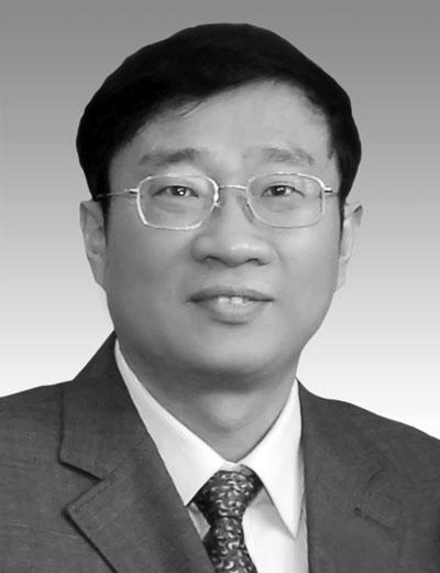 罗阳同志遗像      图片:中国航空工业集团公司发