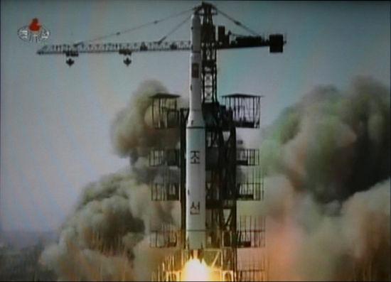 朝鲜光明星2号卫星发射