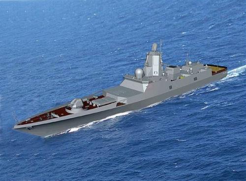 俄新一代隐形护卫舰首舰明年入役
