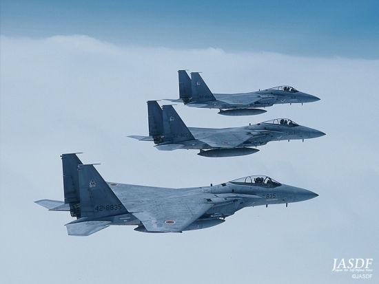 日本自卫队装备的F-15J