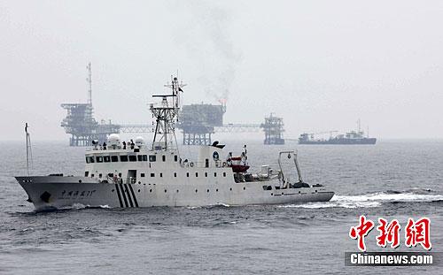 日媒称两艘中国海监船驶入钓鱼岛海域毗连区