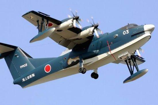 日本拟向印度出口水上飞机 意在牵制中国